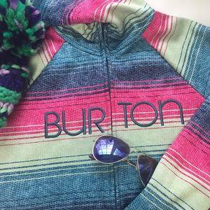 BURTON WOMEN'S ZIPUP SWEATSHIRT